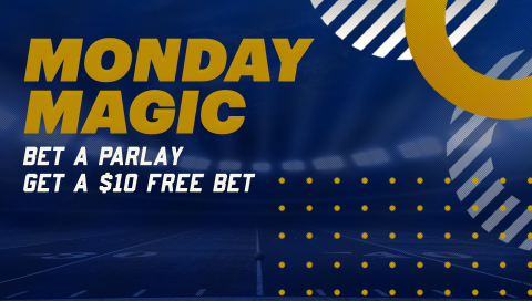Bet $50+ on any Parlay on Mondays and get a $10 Free Bet