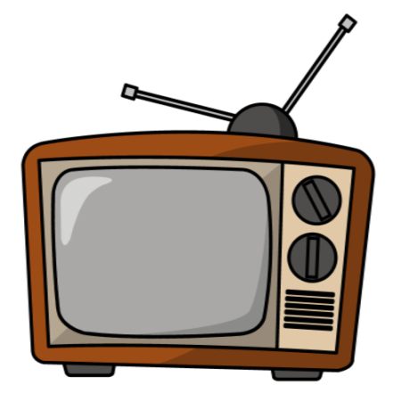 TV set clip-art