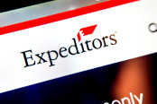 Expeditors International courier website homepage