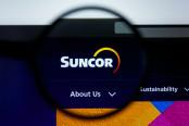 Illustrative Editorial of Suncor website homepage