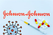 Johnson & Johnson logo printed as a brochure