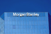 Morgan Stanely building and logo