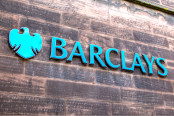 The Barclays bank logo