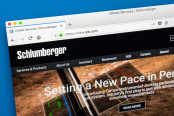 homepage of the official website for Schlumberger Limited