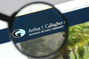 Arthur J. Gallagher logo on the website