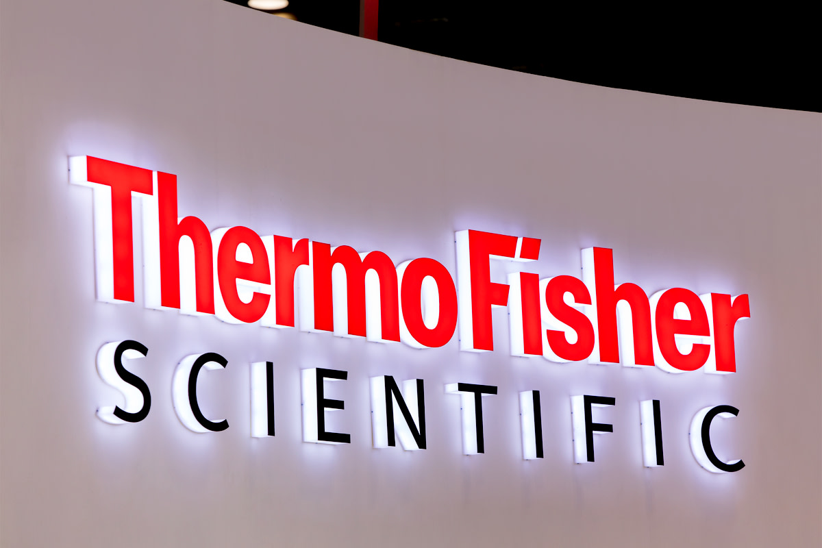 Thermo Fisher Scientific sign