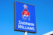 Sherwin-Williams paint store sign
