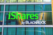 iShares by BlackRock sign and logo