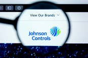 Illustrative Editorial of Johnson Controls website homepage