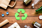waste recycling eco symbol