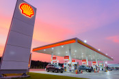 Royal Dutch Shell PLC gas station