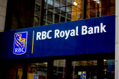 The Signing in front of the RBC Royal Bank