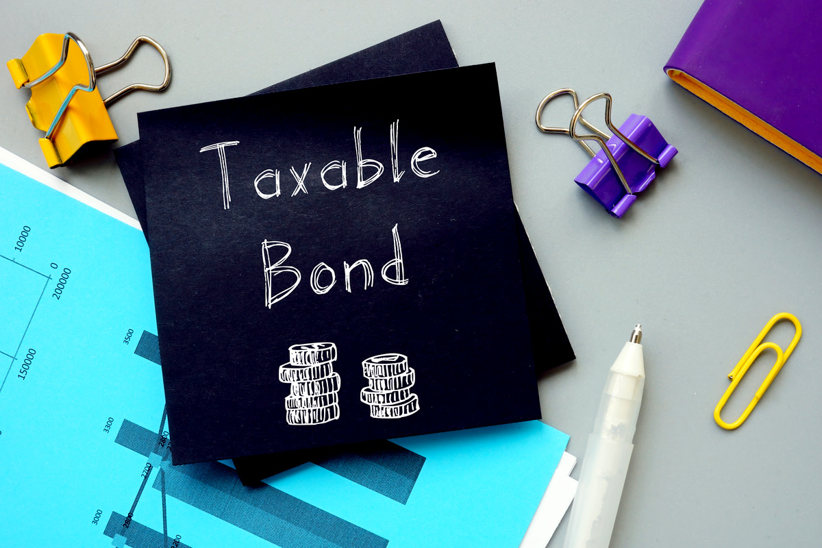 Business concept about Taxable Bond
