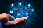Insurance technology (Insurtech) concept
