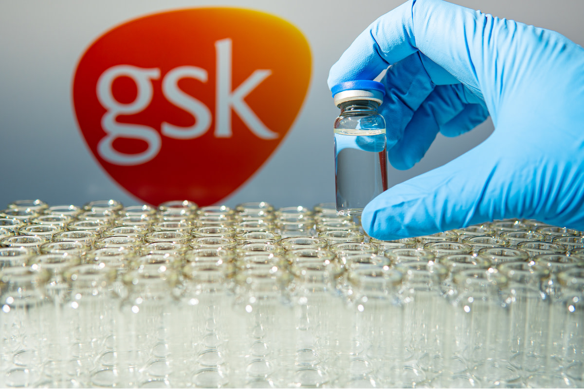 GlaxoSmithKline name in blur
