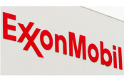 Sign of the Exxon Mobile petrochemical company