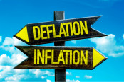 Deflation - Inflation signpost