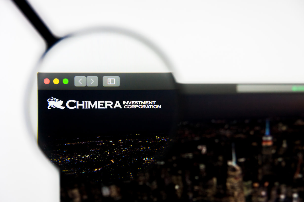 Illustrative Editorial of Chimera Investment Corporation website homepage