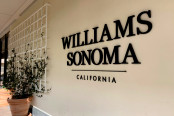 Williams Sonoma Logo on the outside of the store