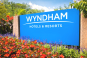Wyndham Hotels and Resorts headquarters entrance sign