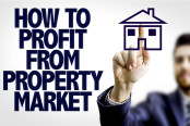 Property investment concept
