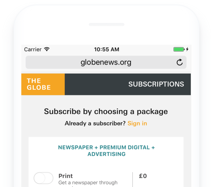 TheGlobe Brussels2017 Subscription01
