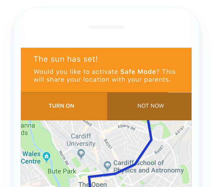 Waytogo London2018 5 safe mode