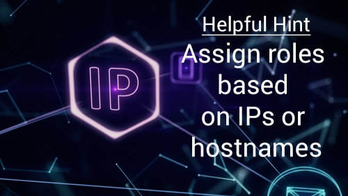 assign elasticserach roles by ip