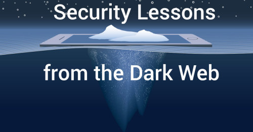 security lessons dark web