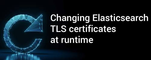 Change Elasticsearch TLS certificates at runtime