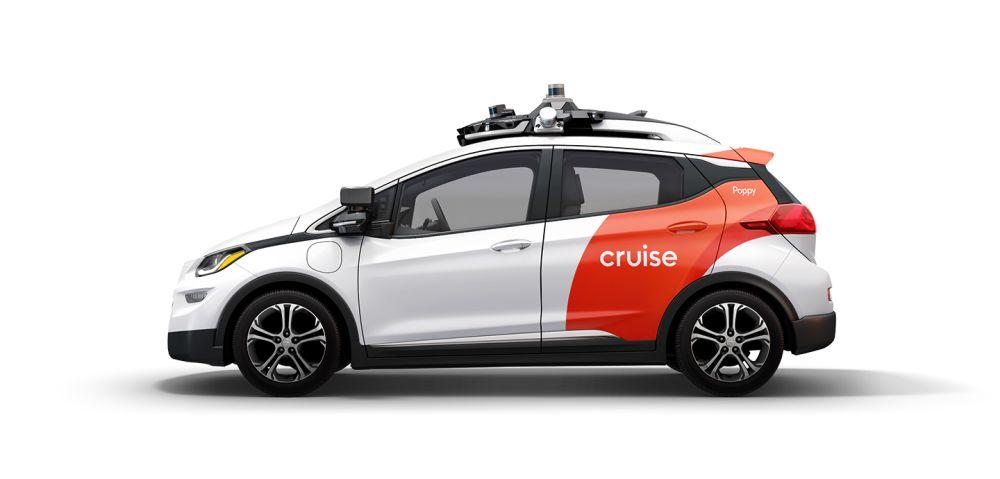 Cruise's first-generation AV named Poppy.