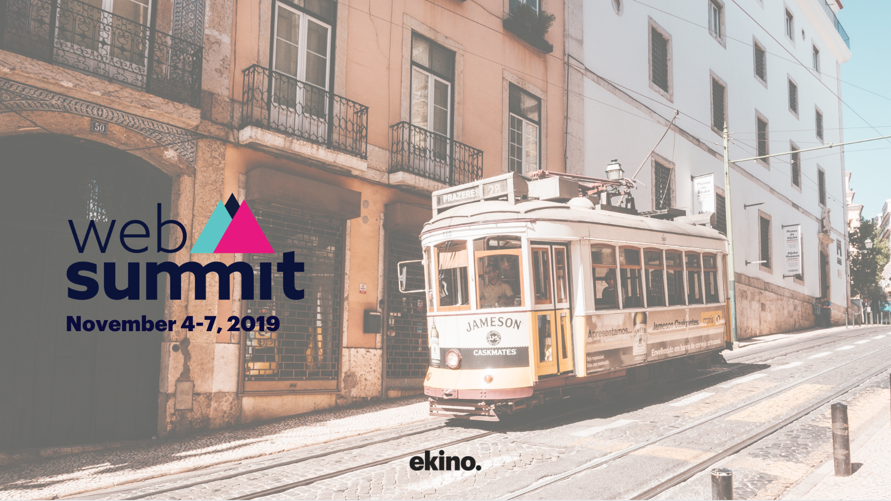 Web Summit Lisbon Tramway