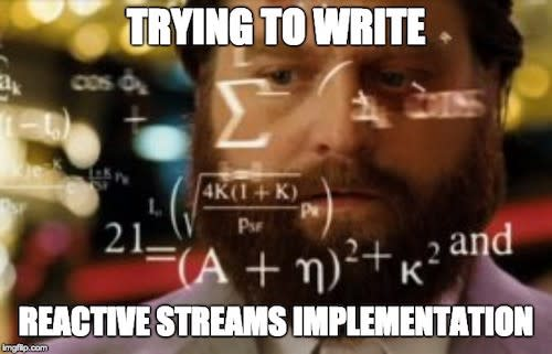 reactive-stream-implementation