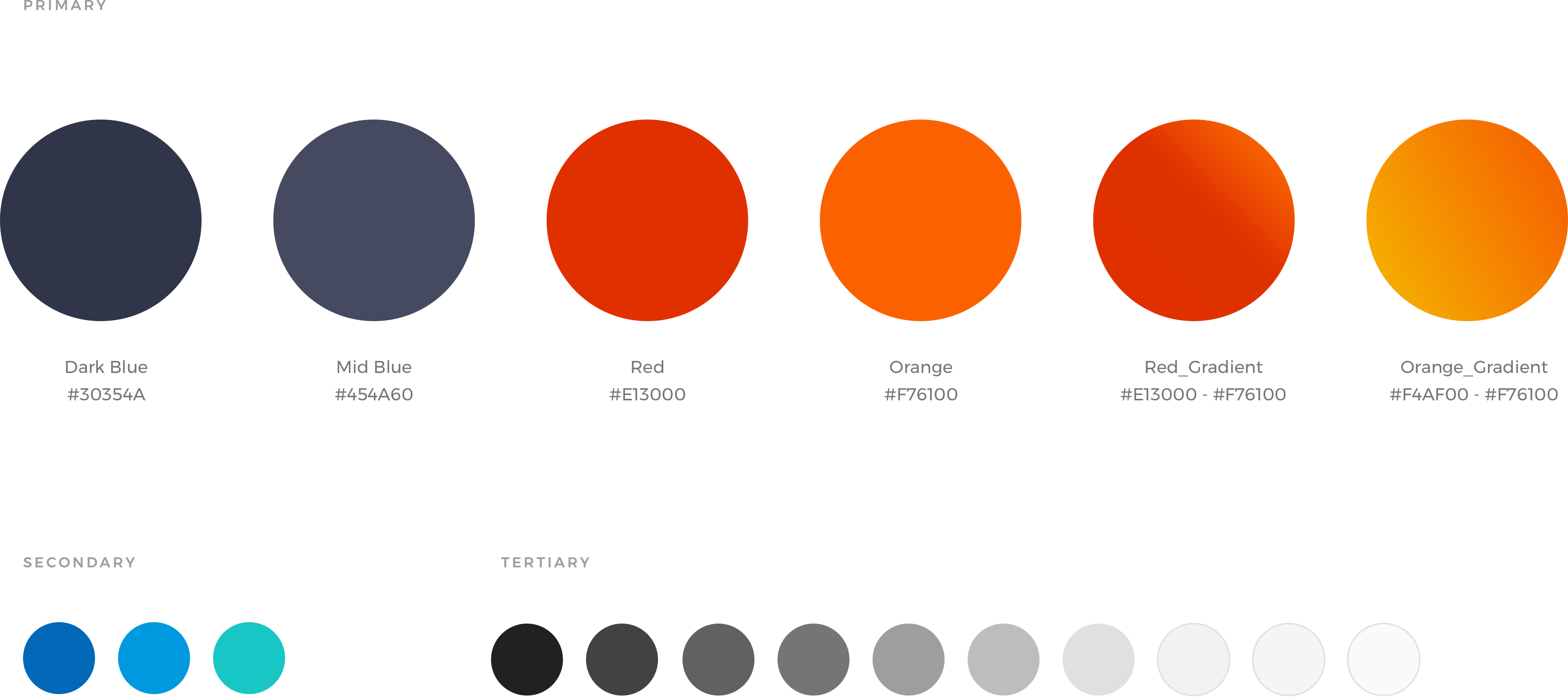 UKPN colour palette