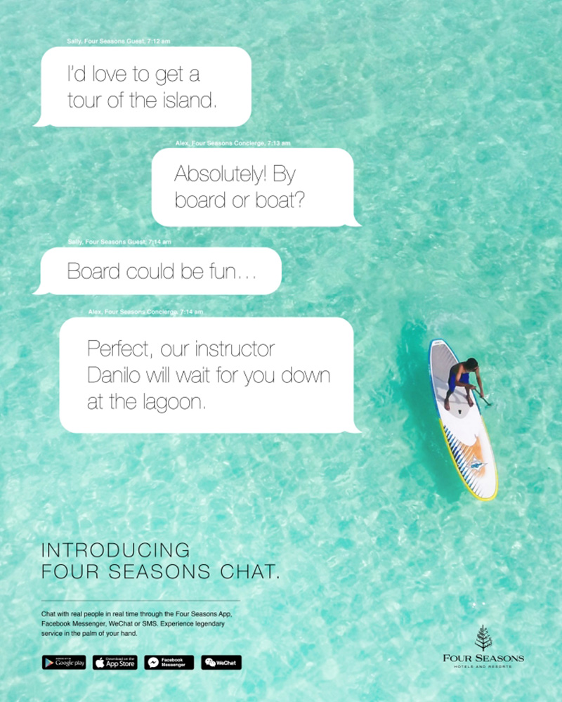 Four seasons chatbot