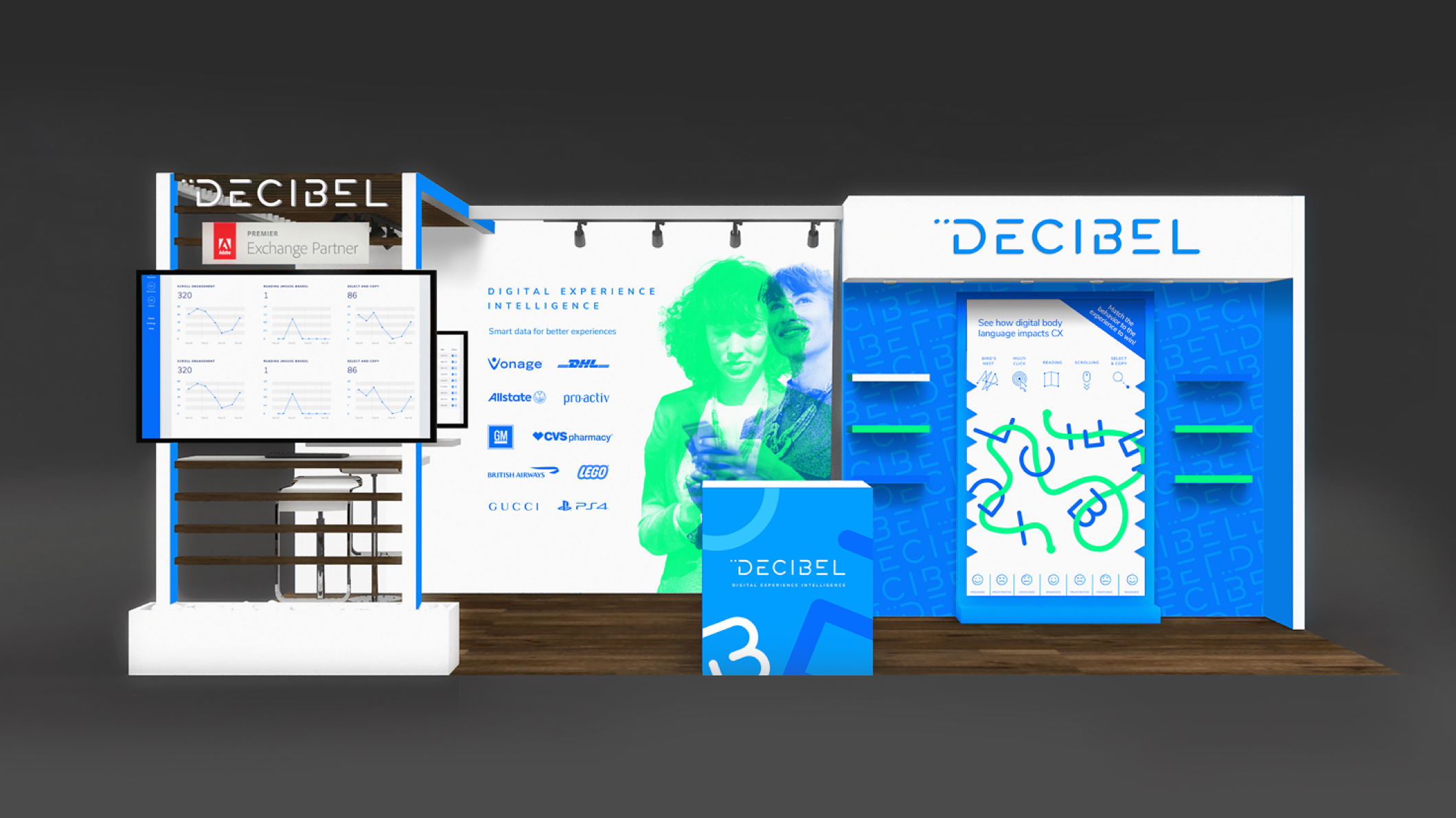 Decibel Event Stand