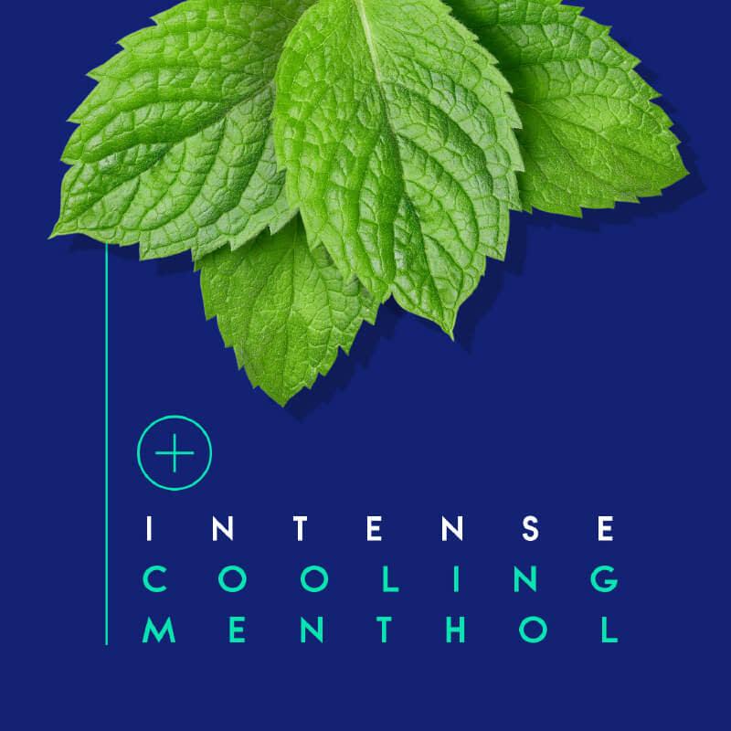 Intense cooling menthol