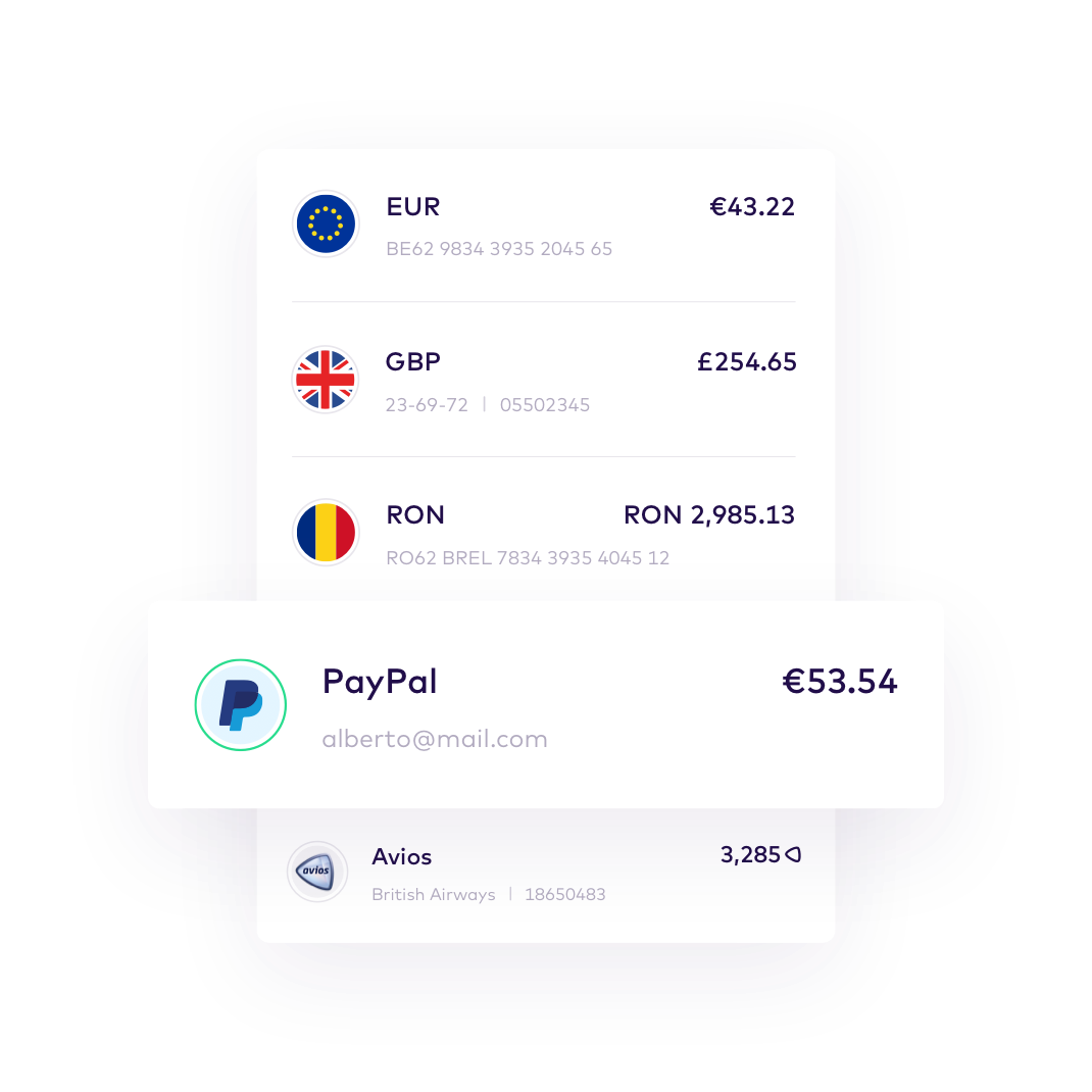 EN All your accounts in one app EUR