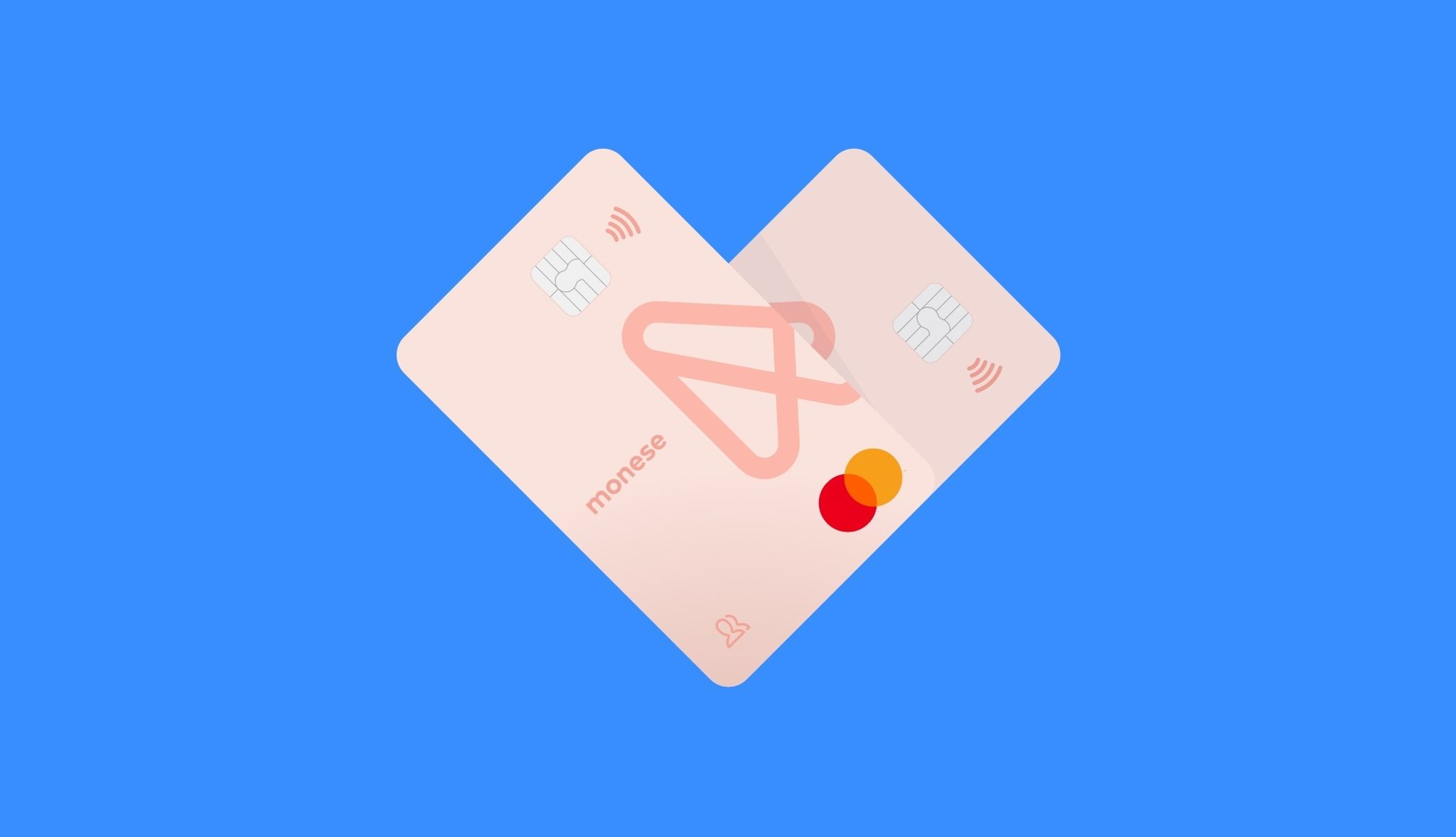 Heart joint account cards
