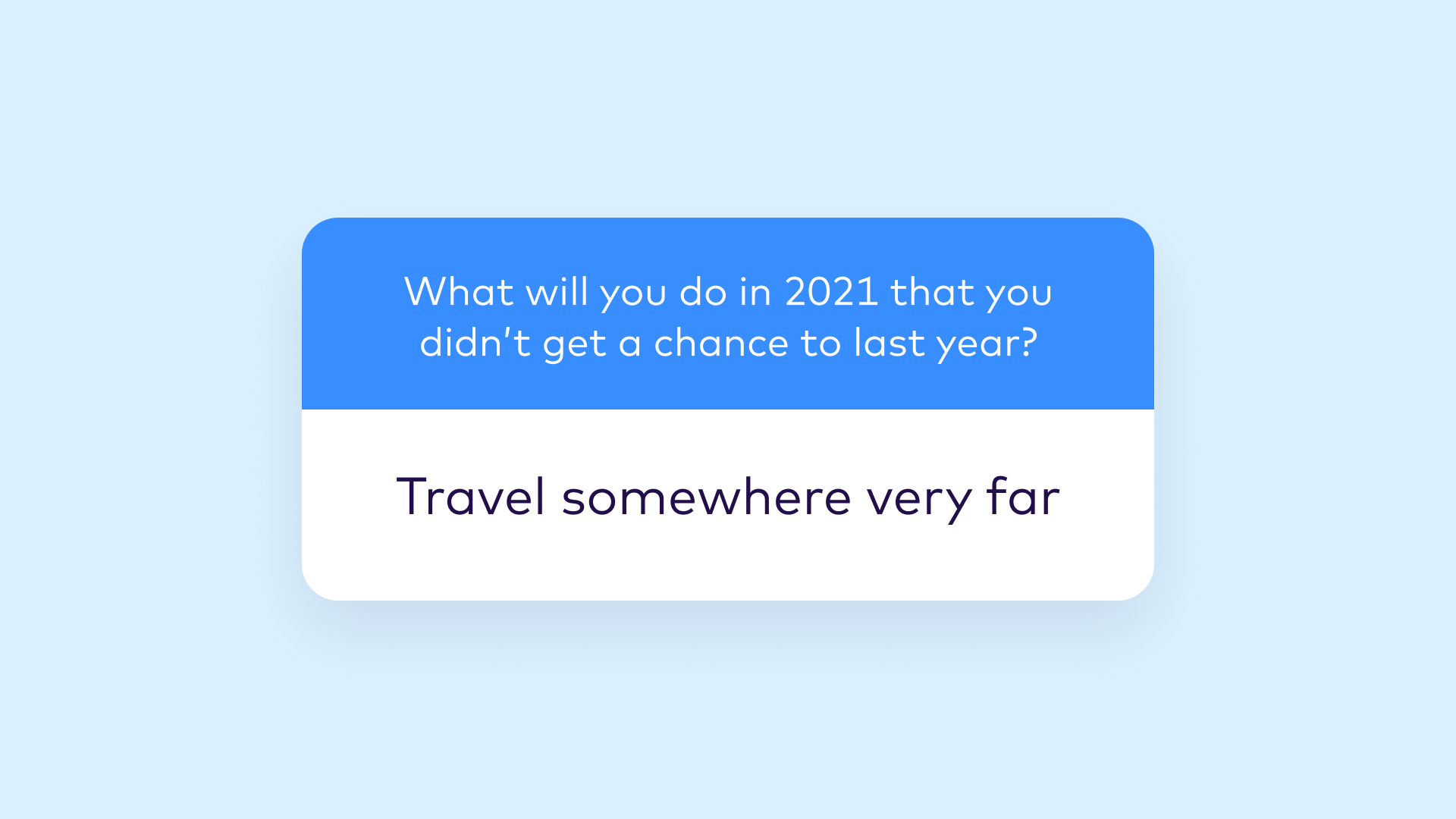IG Story travel question and answer