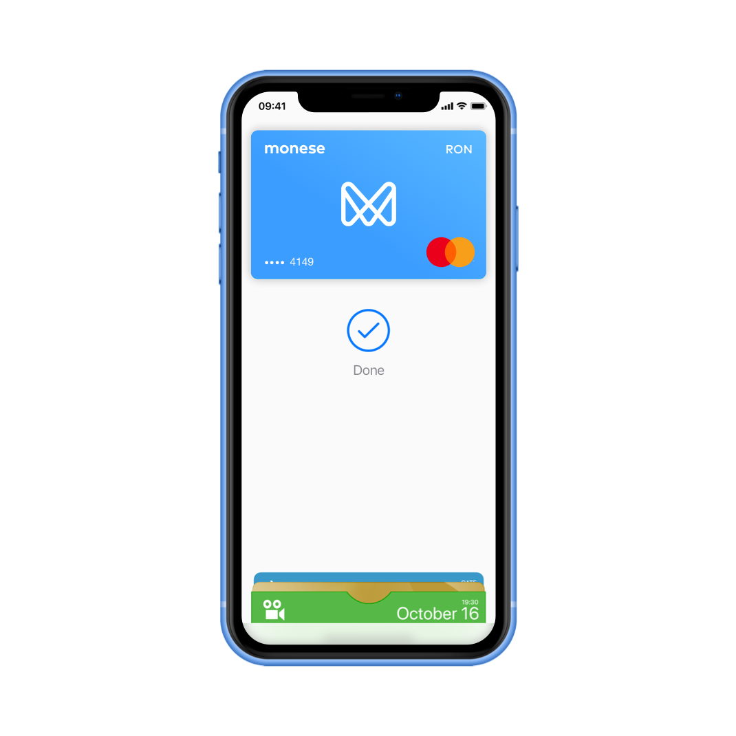 EN Features Overview > Monese with apple Pay RON