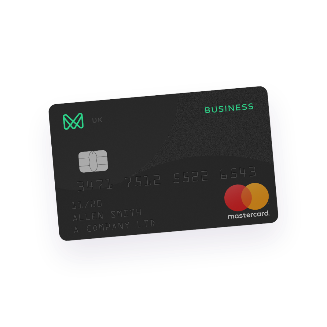 UNI a contactless mastercard debit card to bring on the go