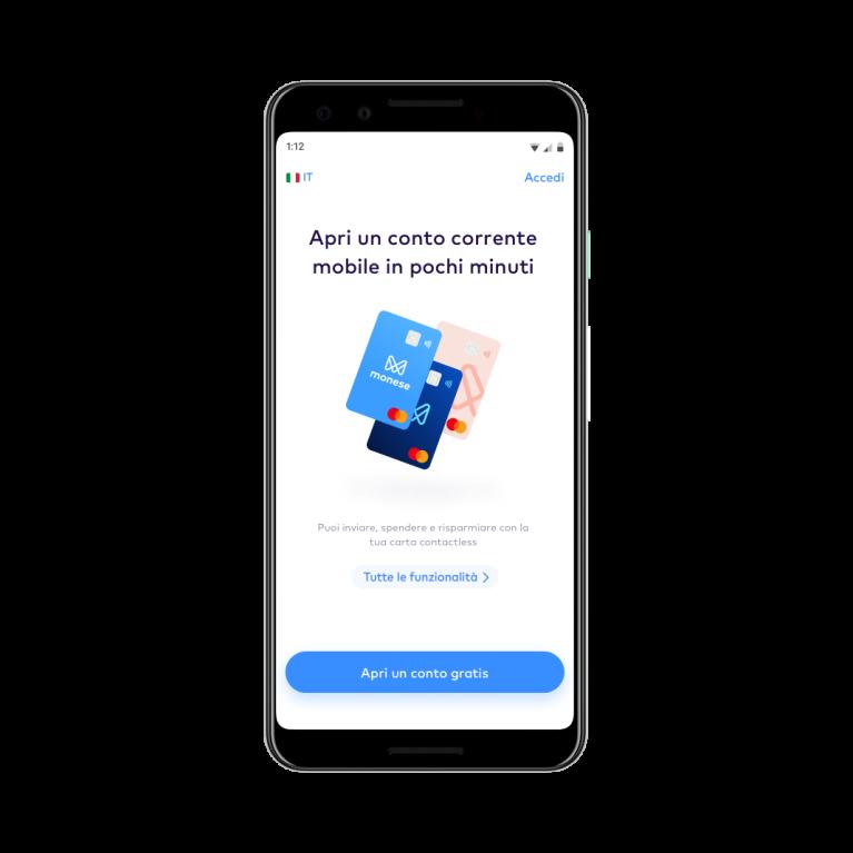 Apri Istantaneamente Un Conto Corrente Mobile In Euro Per Iniziare A Spendere Inviare E Risparmiare Denaro Monese