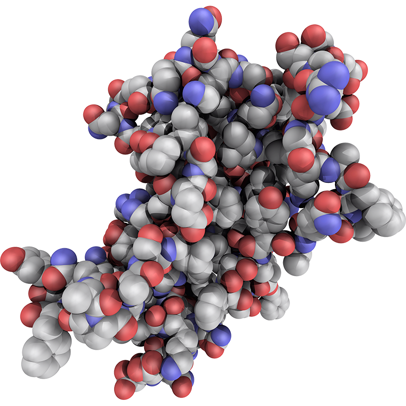 Image of an HGH Molecule