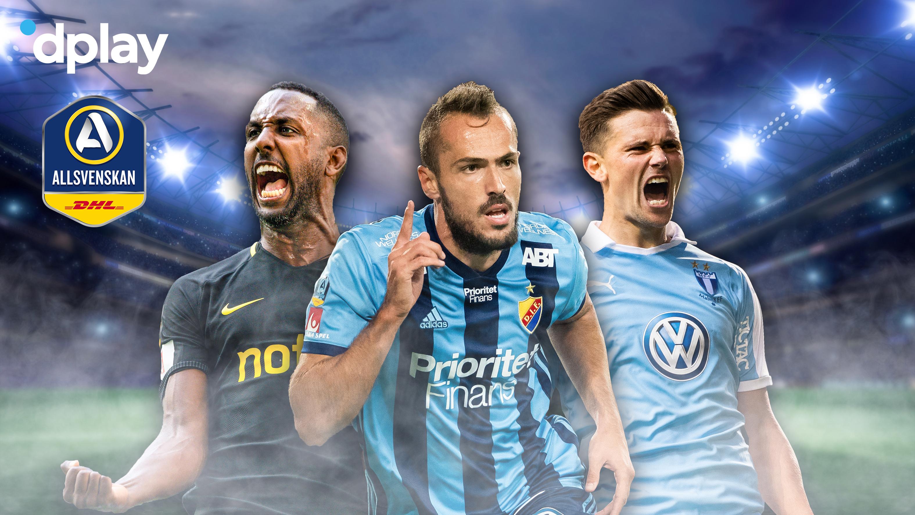 Upplev Spanningen I Jamna Allsvenskan Se Matcherna Med Dplay