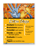 Grade Action Steps Poster