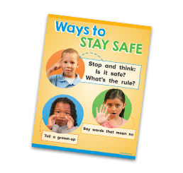 ways to stay safe poster
