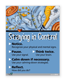 Grade 7 Staying in Control Poster
