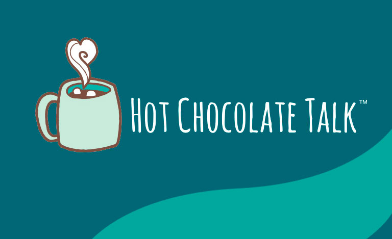 hot chocolate talk graphic