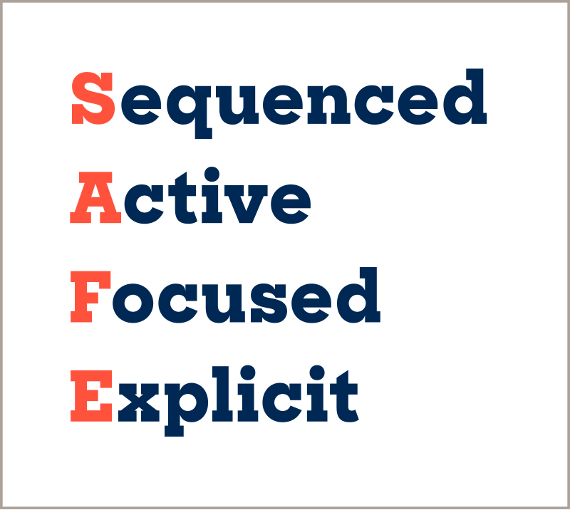 S.A.F.E.—Sequenced, Active, Focused, Explicit